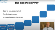 The export stairway - steps to enter new markets - Moreganic Sourcing - 2020 - Free download