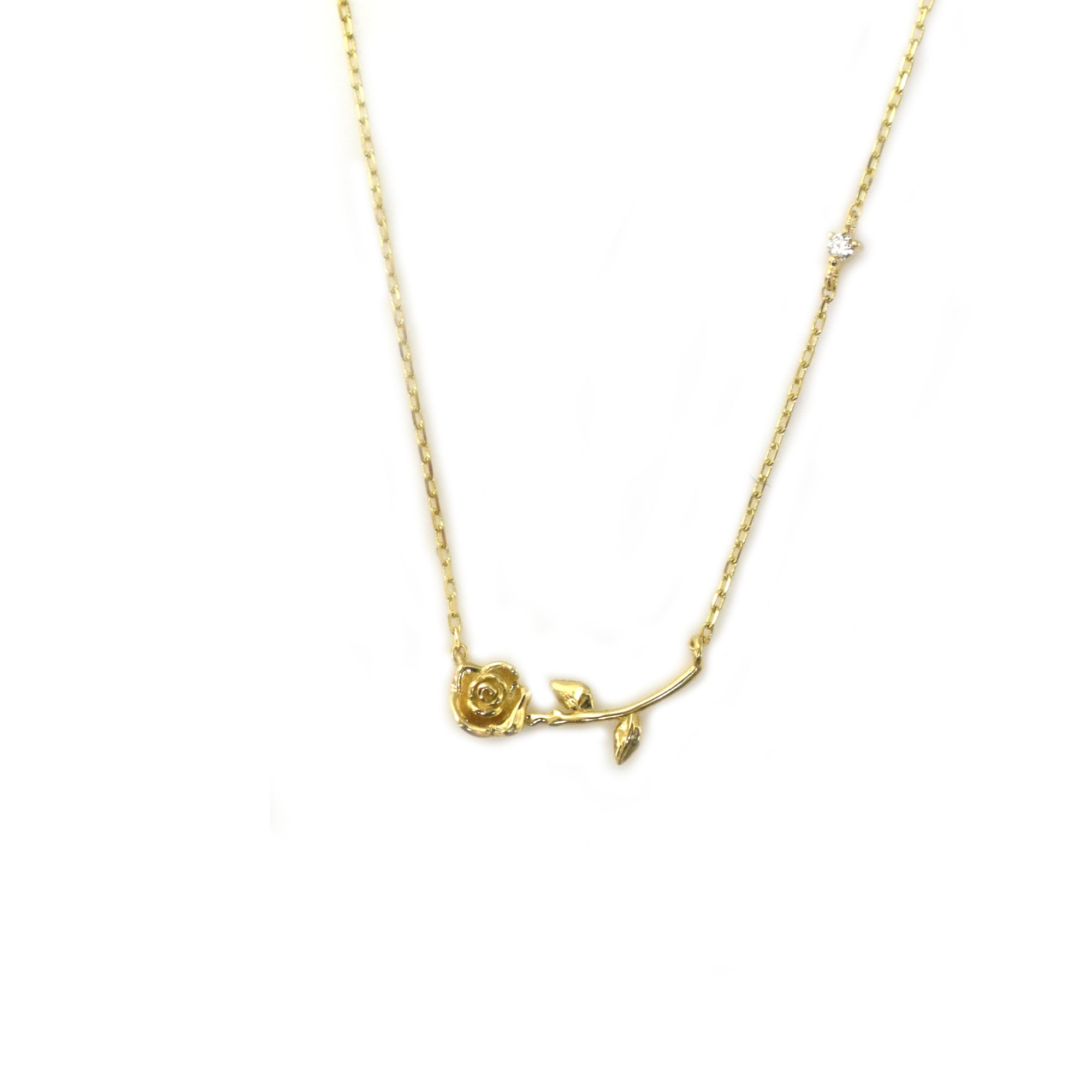 14kt My Forever Sweet Rose Pendant