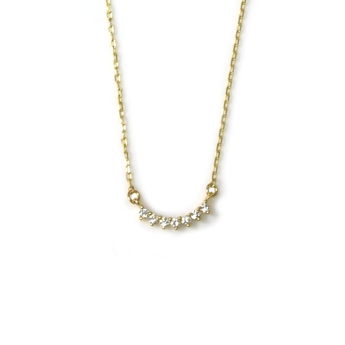 14kt Gold Diamond Cascade Pendant