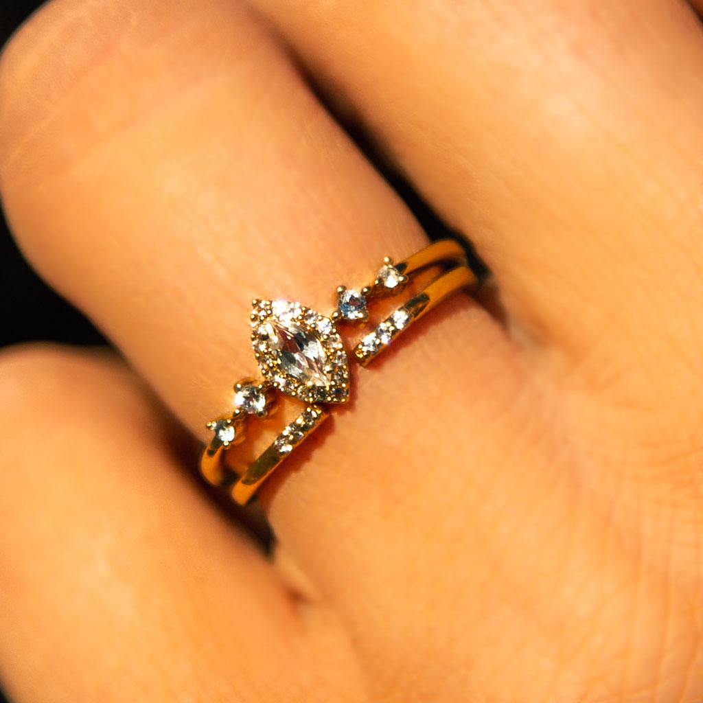 Mini Open Diamond Ring
