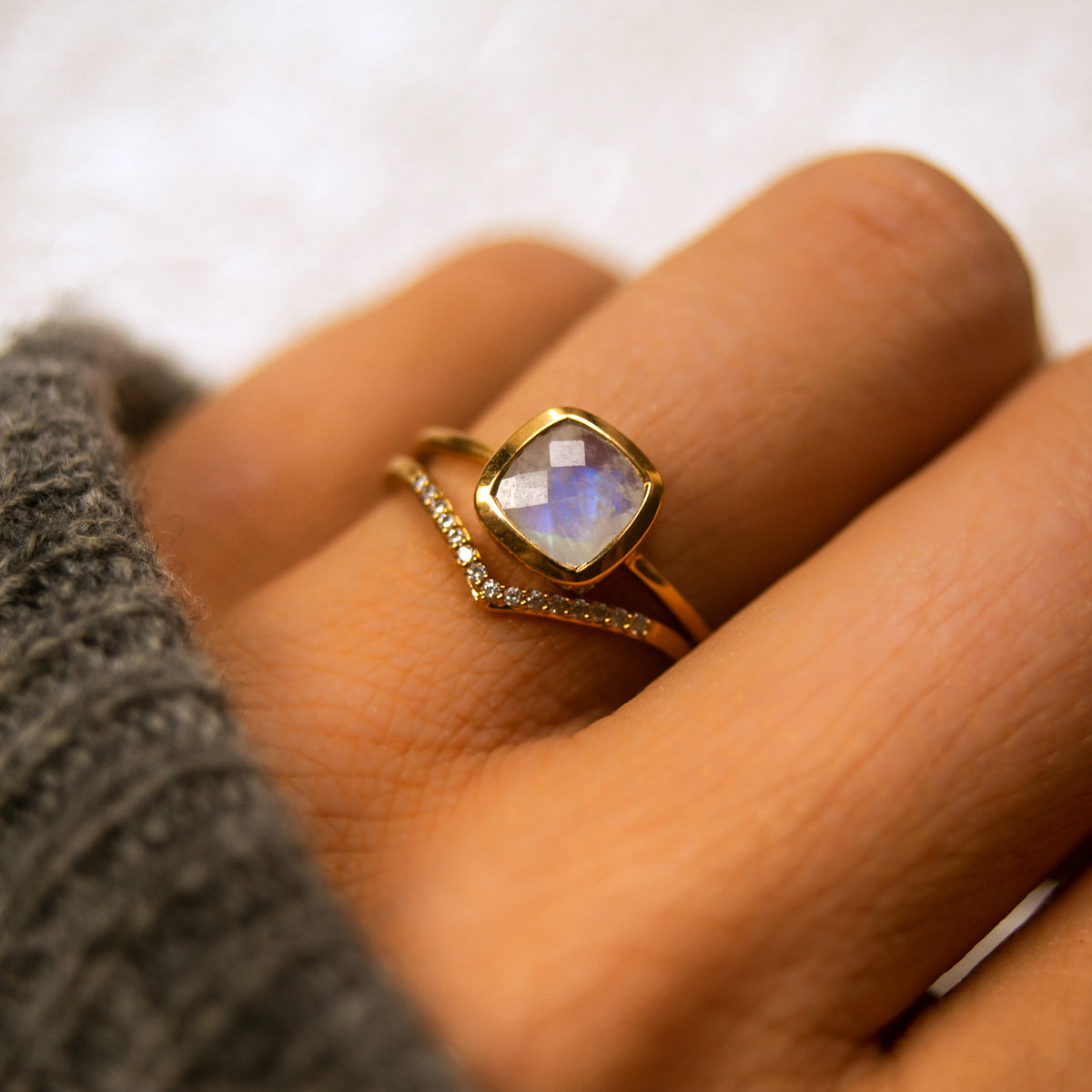 Diamond Victorian Ring