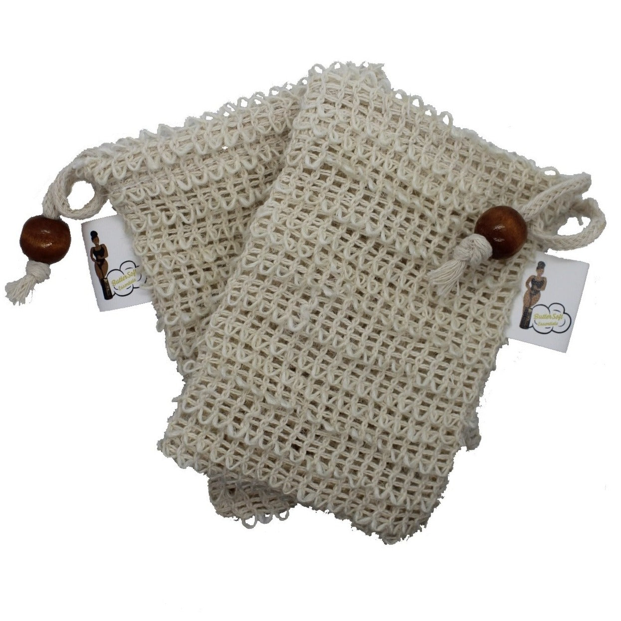 BSE Natural Exfoliating Soap Pouch