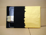iPad sleeve - Gold on Black