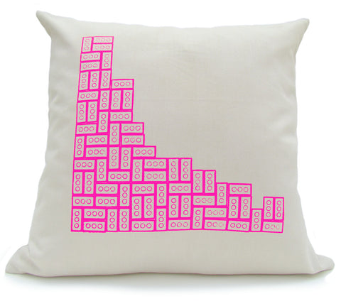 Diagonal Eights in Pink