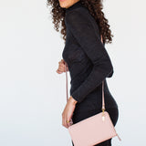 Pretty In Pink Wallet/Clutch by Mary and Marie