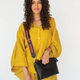 The Rachel Mary Cross Body Bag that converts to a clutch