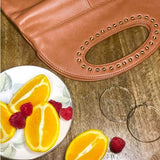 Maddie Leather Clutch - maryandmarie