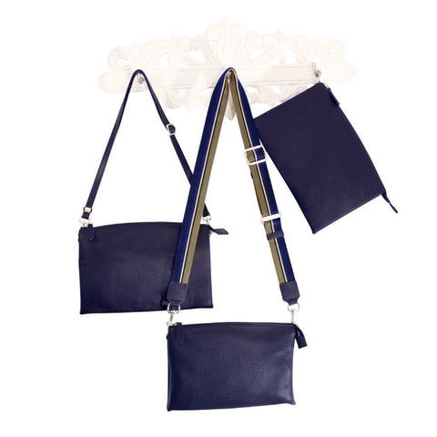 The Newport Cross Body Convertible Clutch - Mary + Marie
