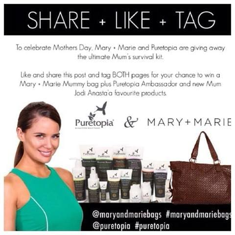 Mary + Marie and Puretopia Competition!