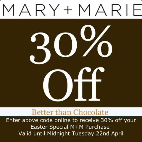 Mary + Marie // Easter Sale 30% OFF