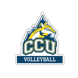 CCU Volleyball Decal - M12