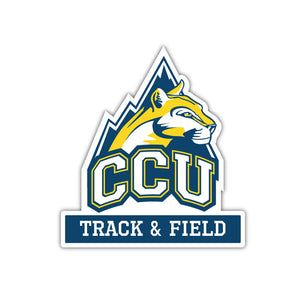 CCU Track & Field Decal - M15
