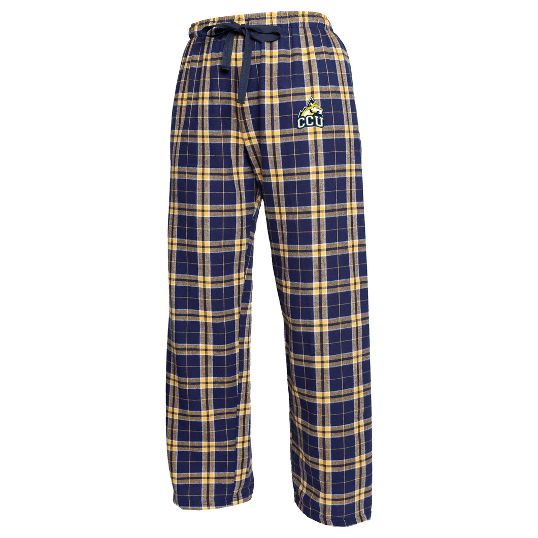 Boxercraft Flannel Pant, Navy/Gold