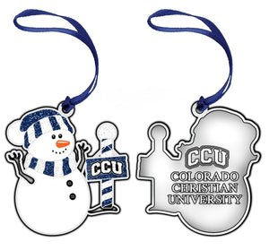 RFSJ Pewter Snowman Ornament