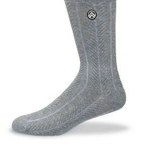Sky Footwear Socks, Stormy Grey Knit