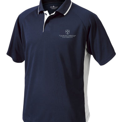Charles River Men's Color Block Polo, Navy