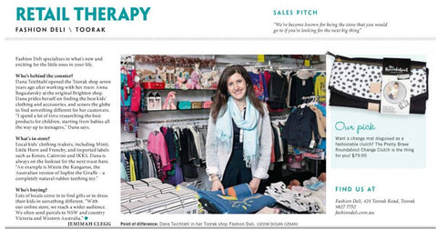 Fashion Deli in the Weekly Review