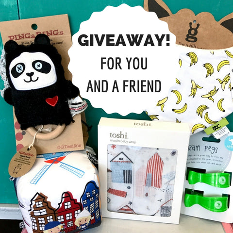 Giveaway! For you and a friend
