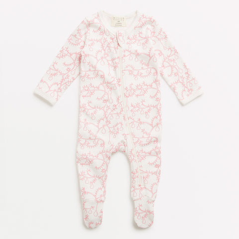 Wilson and Frenchy little pear tree zipsuit