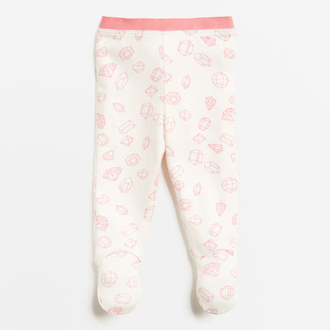 Wilson and Frenchy leggings with feet