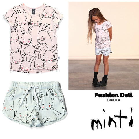Minti sleepy bunnies new Summer 2016 collection