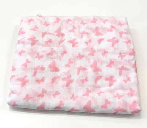 Don De Dieu butterfly muslin wrap