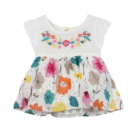 Fox and Finch baby orlando dress with bodysuit
