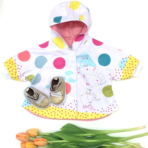 Catimini baby raincoat at Fashion Deli