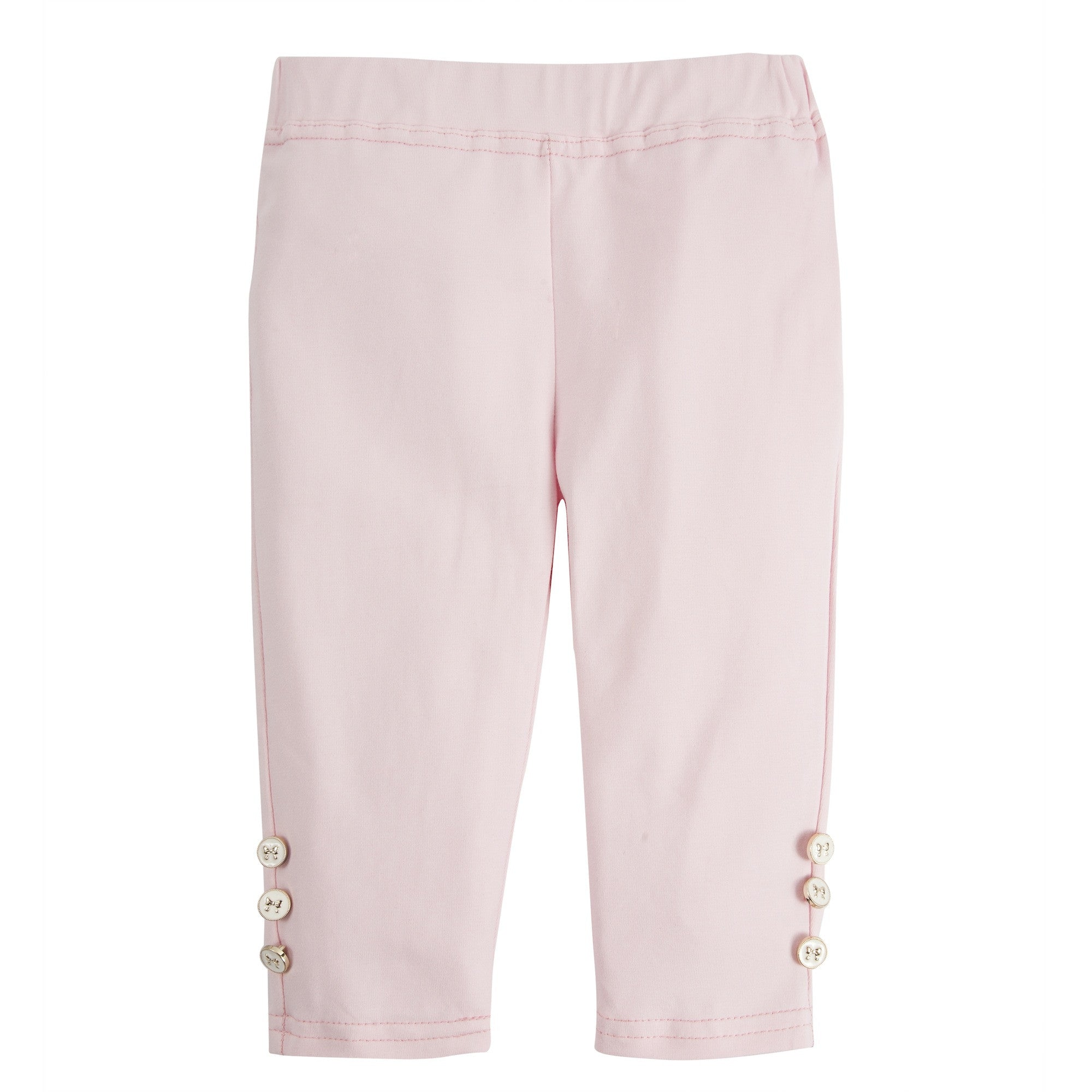 Andy and Evan girl The Casey Capri pale pink