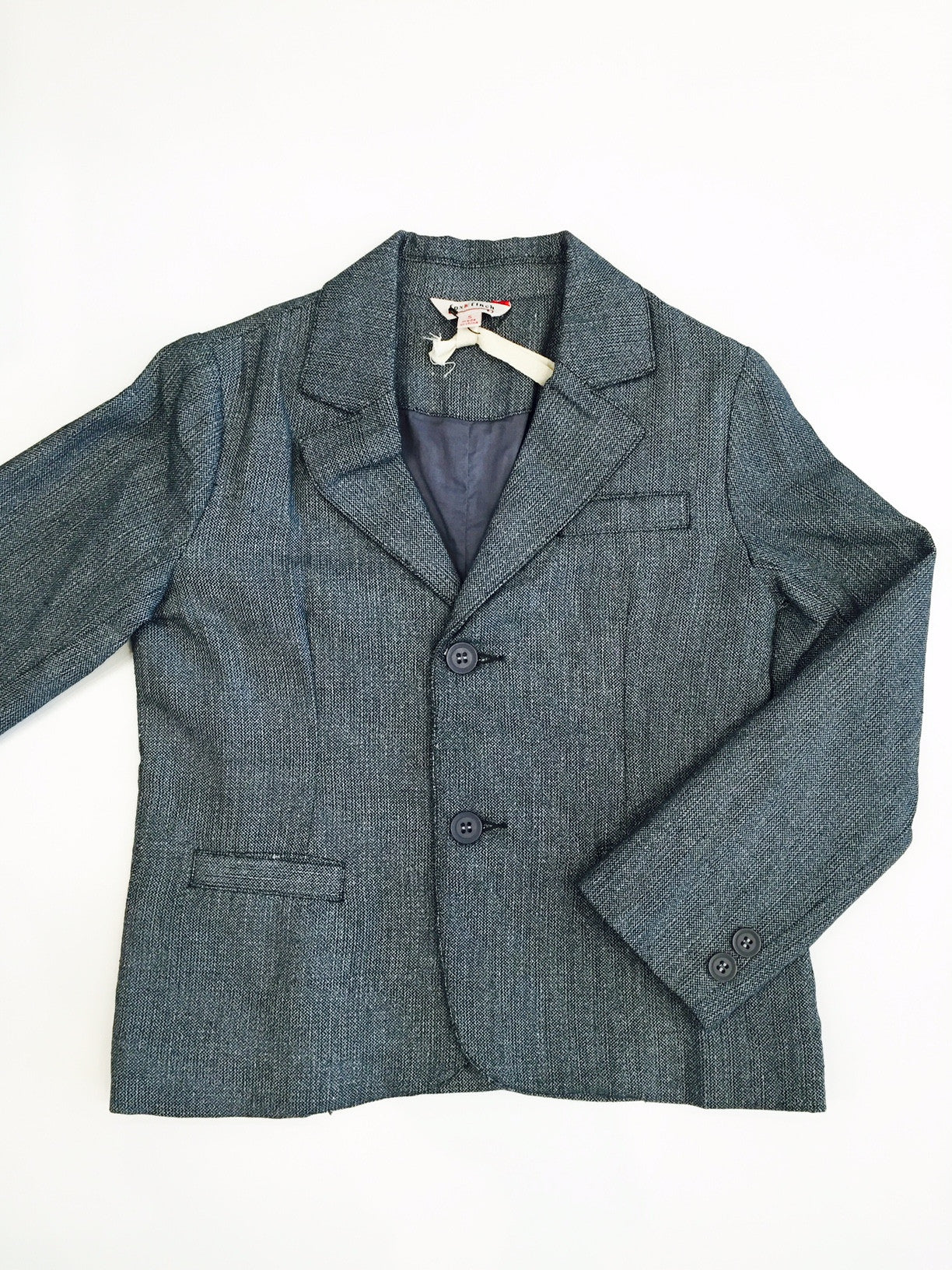 Fox and Finch Boys Charcoal Blazer