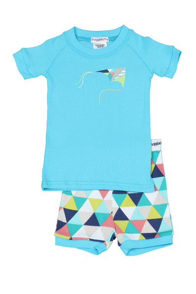 Snugglebum Geo short john pyjamas