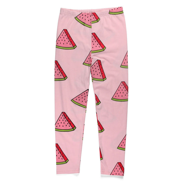 Little Horn watermelons leggings pink