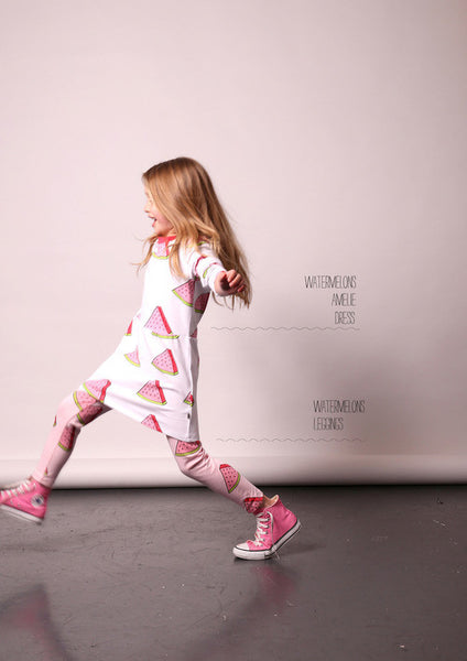Little Horn kids watermelons leggins