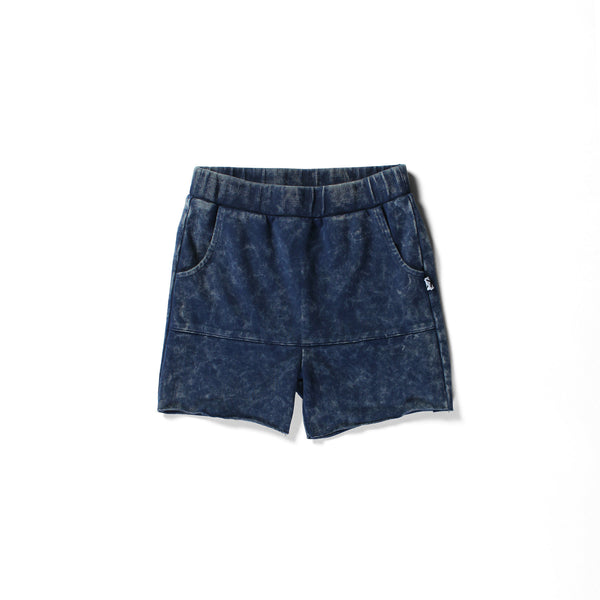Minti pouch short blue wash