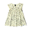 Minti baby playdress sleepy bunnies lemon