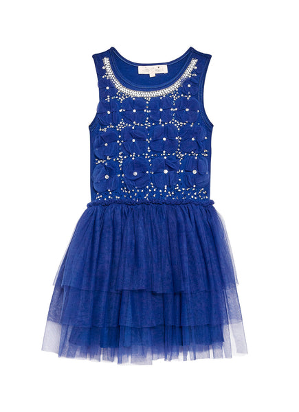 Tutu Du Monde marching mice tutu dress midnight blue