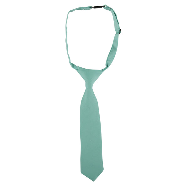 Andy and Evan aqua neck tie