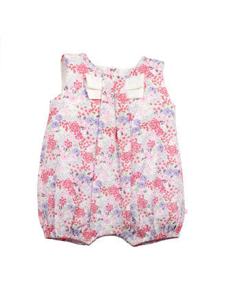 Bebe BY Minihaha bronte floral woven playsuit
