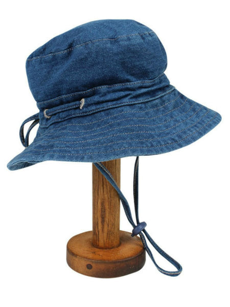 Fox and Finch Halifax denim bucket hat
