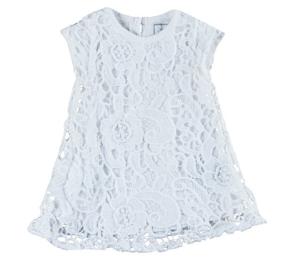 Eliane et Lena Lait dress white lace