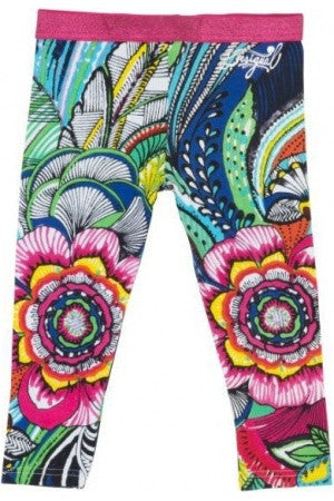 Desigual Araza multi coloured leggings