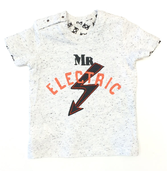 IKKS 2 in 1 t-shirt Mr Electric superhero t-shirt