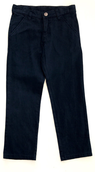 Fox and Finch boys navy chino pants