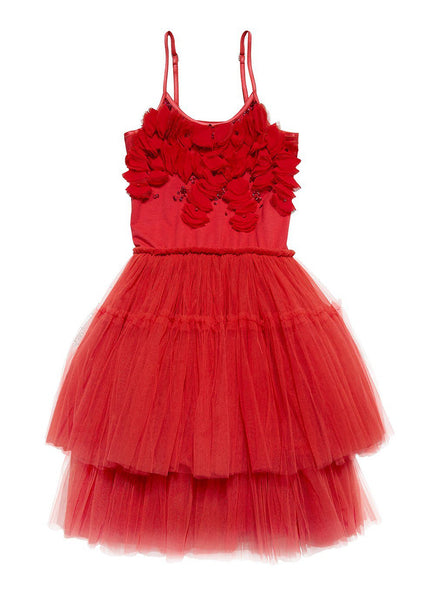 Tutu Du Monde Girl Very Merry Tutu Dress Rhubarb Red