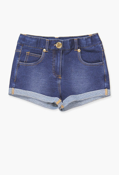 Boboli soft denim shorts