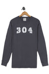 304 long sleeve tee, final sale