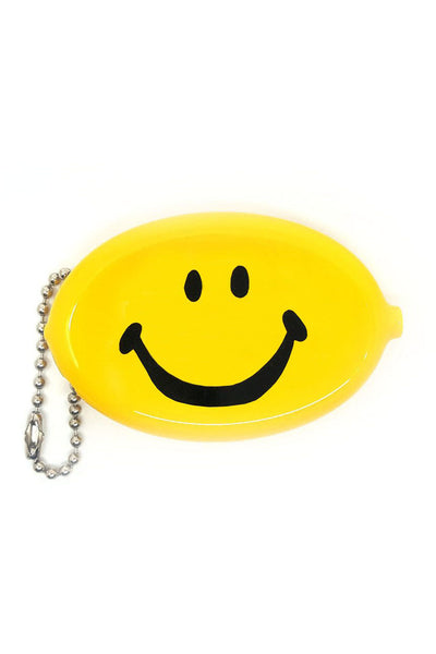 smiley coin pouch