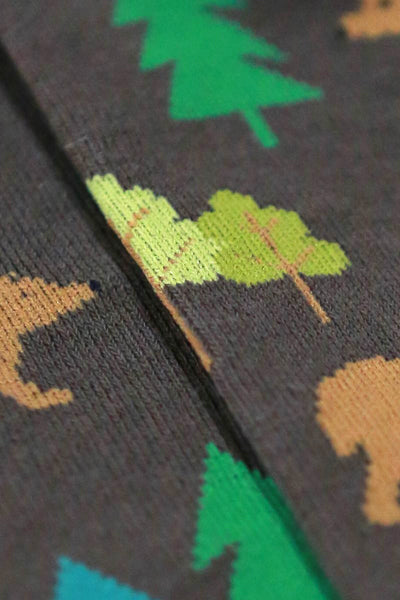 mens bear & pines socks