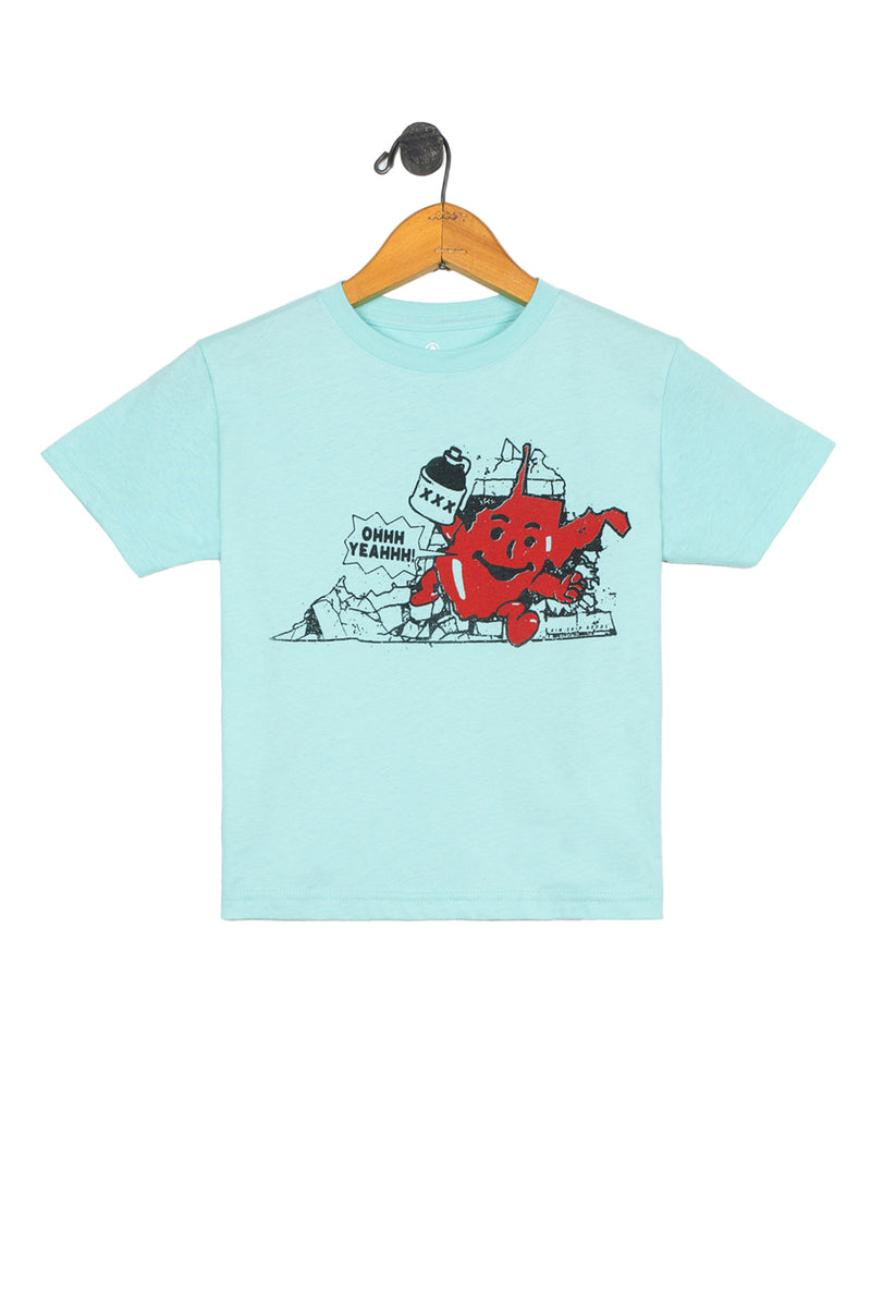 bustin out kids tee