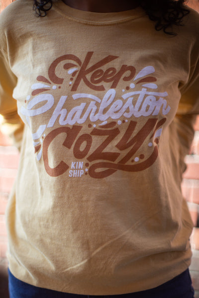keep charleston cozy long sleeve tee